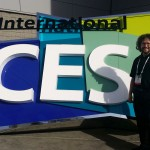Andy in front of International CES sign